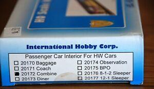 Interior for Combine car IHC  #20172 Box still sealed  HO
