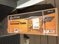 "36"" Griddle Surround Table Accessory Attach Station Expand Space By Blackstone"