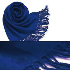 Fashion Womens Winter soft Cashmere Silk Solid Long Pashmina Shawl Wrap Scarf