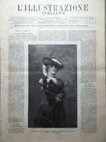 L'Illustrazione Italiana 10 Ottobre 1886 Esposizione Livorno Certosa Pavia Roma