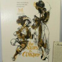 National Shakespeare Co David Stone Martin Art Print Poster She Stoops Conquer