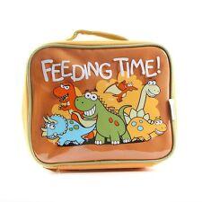 Boys Bugzz Dinosaur Kids School Lunch Box Bag Insulated Lunch Childs