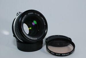 """EXCELLENT++"" NIKON Ai Nikkor 50mm f/1.8 MF Lens F-MOUNT From japan"