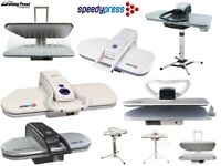 Steam Ironing Press Systems by Speedypress - Choice of 8 Types/Sizes! 55cm 101cm