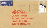 AU$ NEW ZEALAND 1976 30 C Mt Cook National Park single postage superb air mail