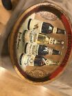 Trommer's  Pre-prohibition 4 bottle tin litho oval beer tray