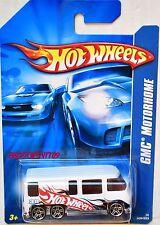 HOT WHEELS 2006 GMC MOTORHOME WHITE