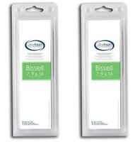 2 Replacements Bissell Style 7 & 9 HEPA Style Filters Part # 32076