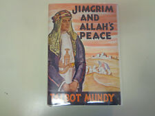 Jimgrim and Allah's Peace by Talbot Mundy HBDJ 1936 Unusual 1st Edition