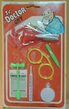 UNOPENED Vintage Jr Doctor Set children toy medical first aid playset c1950