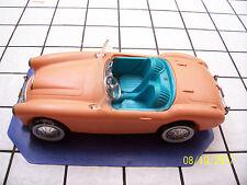 "Vintage 1962 Mattel ""BARBIE"" AUSTIN HEALY Convertible Sports Car"