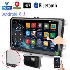 "9""Android 8.1 Autoradio GPS Navi BT USB Touch Für VW Passat Golf Touran CC Polo"