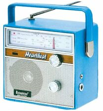 Steepletone Vintage Retro Style 3 Band FM LW & MW Portable Kitchen Radio - Blue