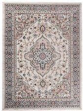 Traditional Klassischer Orientteppich Perser Vintage Teppiche Beige Creme Weiß
