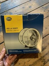 HELLA 5750941 500FF Series Halogen Driving Lamp Kit w covers- 12-Volt/55-Watt^BP