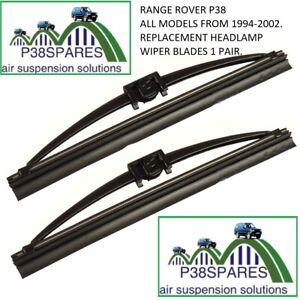 Range Rover P38 1994-2002 MKII   Headlight Wiper blades x 2