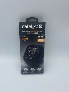Catalyst Impact Case and Band Apple Watch Series 5/4 44mm - Black OPEN BOX