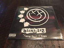 "BLINK 182~Feeling This 7"" SEALED~pop punk alkaline trio transplants +44 nofx"
