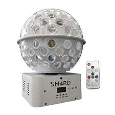 Shard Starball White LED Mirrorball Effect Stratosphere DJ Lighting inc Remote