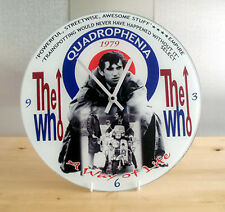 Quadrophenia Wall Clock, Scooter Clock, Brighton Mods The Who Wall Clock, Glass