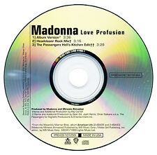 Madonna LOVE PROFUSION (Original Promo CD Single) (2004) RARE