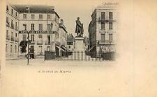 CHALON SUR SAÔNE Statue de Niepce