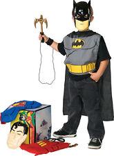 JUSTICE LEAGUE SUPERHERO COSTUME Set Superman Batman Robin