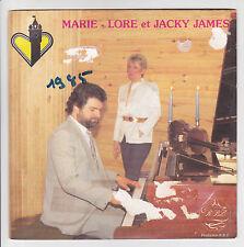 "45 giri MARIE LORE JACKY JAMES Vinile SP 7"" CHOPIN - CA 94442 RARE"