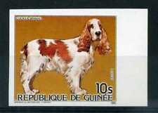 GUINEE 1985, timbre 777 ND Chien Cocker spaniel, neuf**