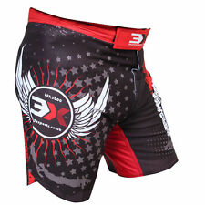 3XSports MMA Boxing Fight Shorts Grappling Kick Cage Mens Pants Wears UFC Gym RD