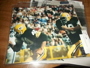 Tom Brown  #40 Green Bay Packers  Signed/Auto   8 x 10.