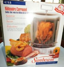 NIB 1997 Sunbeam 4780 Electric Carousel Vertical Rotisserie Chicken Cooker NEW