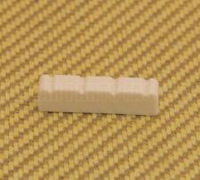 UKE-NUTC Plastic Cream Slotted 4-String Ukulele Uke Nut