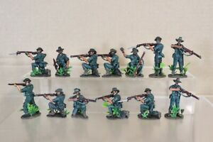 READY4ACTION WWII BRITISH INFANTRY in BURMA SOLDIERS ATTACKING pjm