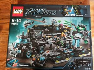 LEGO Ultra Agents Mission HQ (70165) - Brand New In Box!
