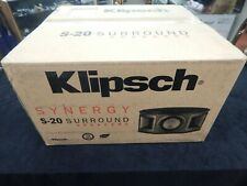 Klipsch Synergy S-20 Surround Speakers (pair) - Black - NEW!