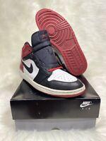 Air Jordan 1 Retro Og High Black Toe Old Love 2007 Mens Size 12 Bred Top 3 Mid