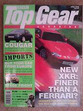 TOP GEAR MAGAZINE JUN-1998 - Ferrari 456, Jaguar XKR, Range Rover, Nissan Patrol