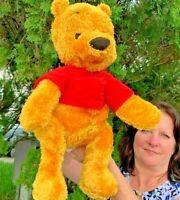 "Vintage Fisher Price Mattel Disney Winnie The Pooh 20"" Plush Stuffed Animal Toy"