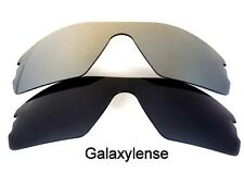 Galaxy Replacement Lenses for Oakley Radar Path Black&Gray Polarized 2 Pairs