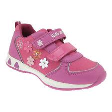 Chaussures roses en cuir pour fille de 2 à 16 ans Pointure 23