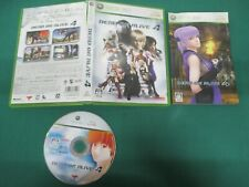 Xbox360 -- DEAD OR ALIVE 4 -- JAPAN. GAME. Work. 45093
