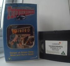 Thunderbirds vol 10 - Danger at Ocean Deep / Move and You're Dead VHS Video
