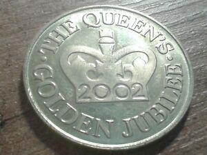 QUEENS GOLDEN JUBILEE COIN 2002