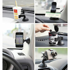 Universal Rotating 360°Car Windshield Mount Holder Stand For Mobile Phone GPS I6