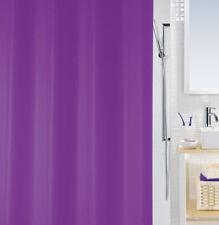 bio violet mauve Eco Rideau de douche 180 x 200 cm. 100% PEVA swiss design PVC