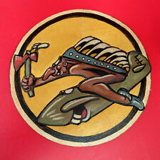 45TH FIGHTER SQUADRON LAYERED LEATHER SQUADRON PATCH