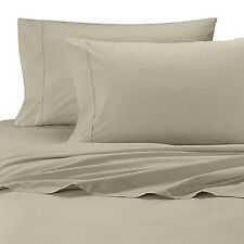 NEW Wamsutta Cool Touch 350 Thread Count Twin Fitted Sheet - Grey