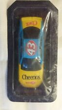 MATCHBOX NASCAR FROM CEREAL BOX UNOPENED #43 BLUE AND YELLOW  CHEX CHEERIOS