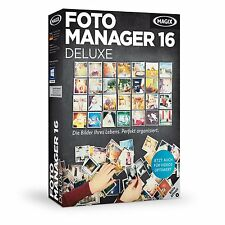 MAGIX Foto Manager 16 Deluxe - NEU & OVP